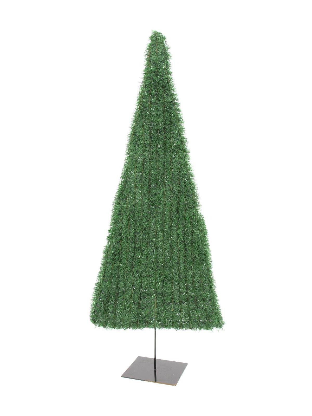 Kerstboom plat, groen, 150cm