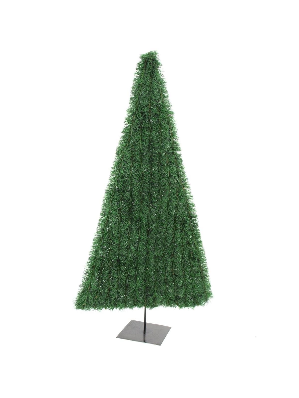 Kerstboom plat, donker groen, 180cm