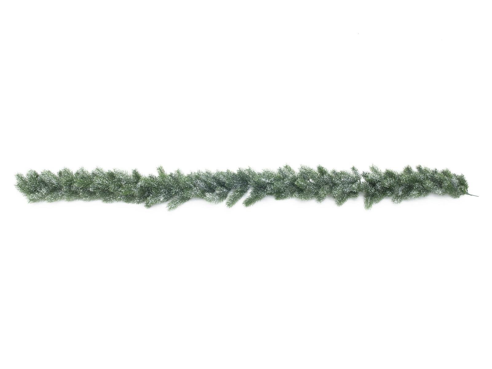 Spar guirlande met sneeuw (PE), 180cm