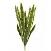 Sansevieria (EVA), groen-geel, 74cm