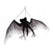 Vleermuis met ca 120 cm vleugel breedte