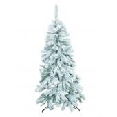 Kerstboom met sneeuwvlokken, 210cm