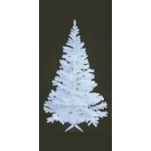 Kerstboom UV wit, 210cm