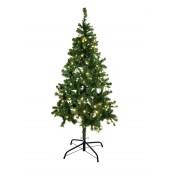 Kerstboom verlicht, 210cm